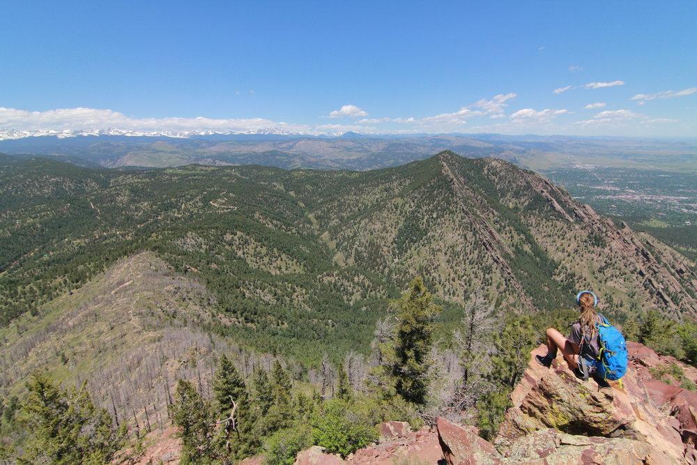 Bear Peak, Boulder Colorado, Hiking