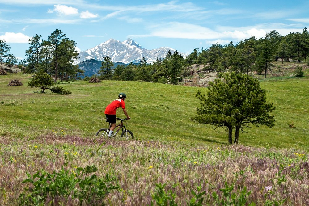 Mountain Biking, Boulder Colorado.