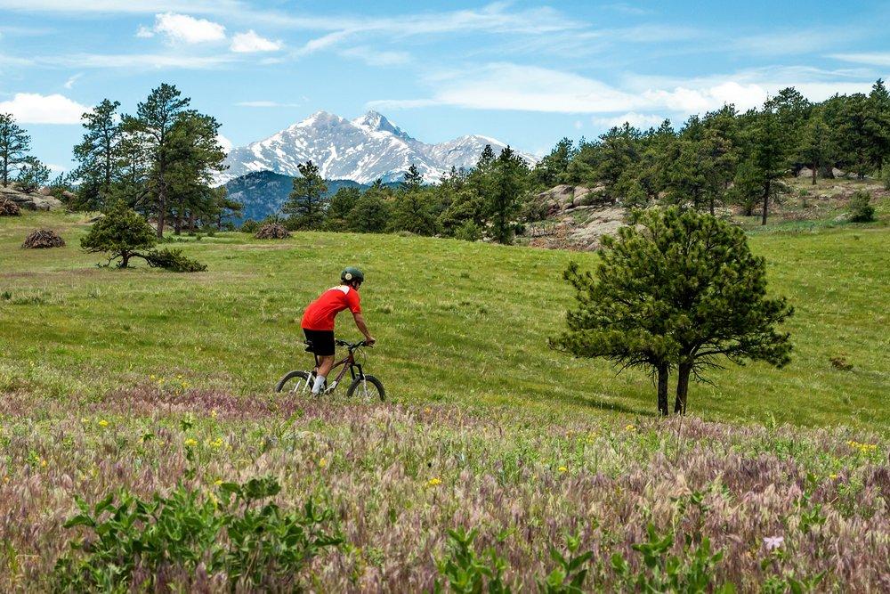 Mountain Biking, Boulder Colorado.