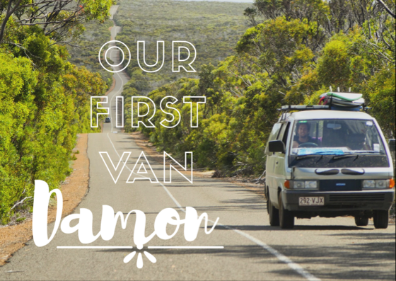 Damon the Nomad - The Man, the myth, the ledge. Our first van purchase was an incredible, life changing experience.  We were lucky enough to buy our van for $800AUD with few mechanical issues.  We learned to simplify our lives and things we once thought we
