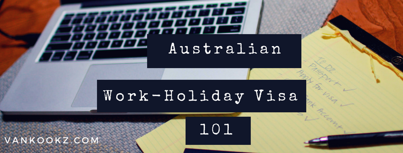 Working in Australia   - Crash corse for Americans planning on traveling to Australia.