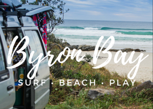 Byron Bay - This by far was one of our favorite little hippy towns. When we weren't working on the Gold Coast, we were beach bummin' in Byron Bay. This place is pure magic. Good Vibes and great surf.