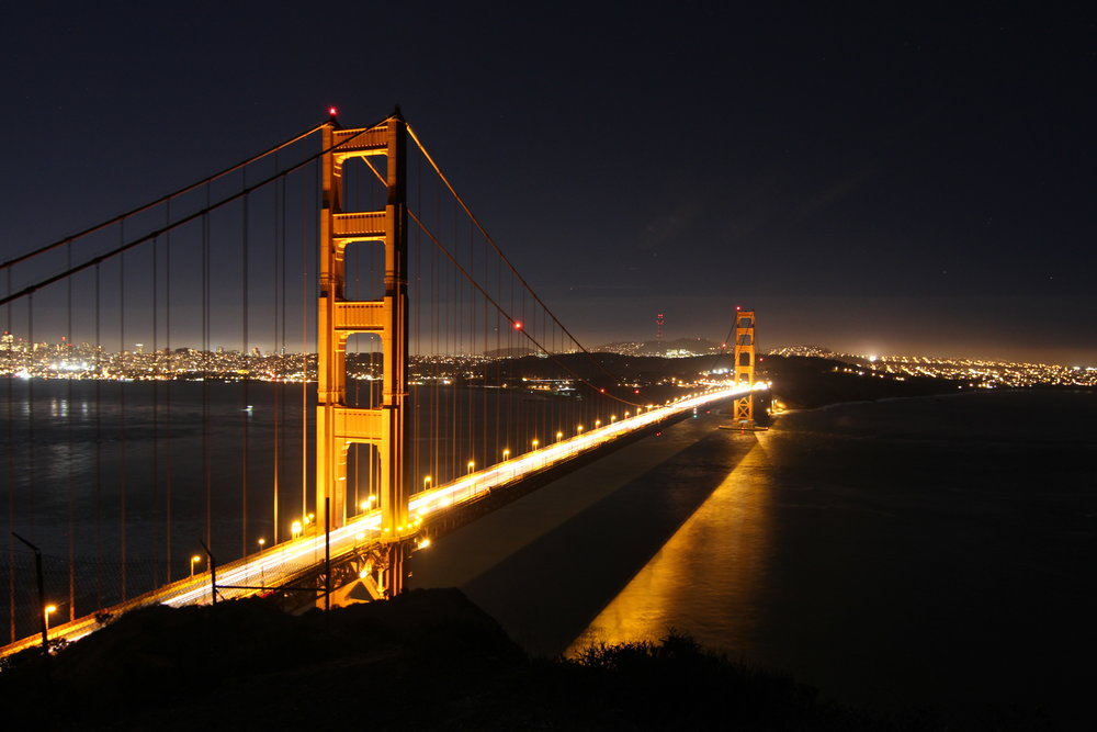 Photo taken from Marin Headlands in the Golden Gate NRA