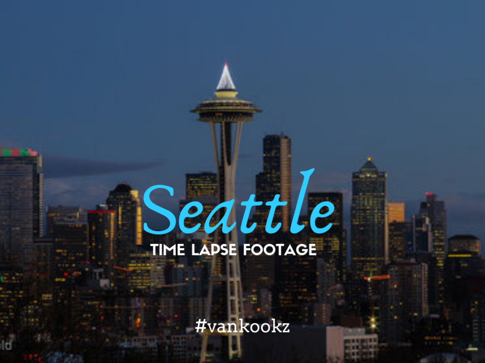 Sleepless in Seattle Timelapse - We lived in Seattle for a couple years and had many days  we would grab a friend and go shoot some video around this iconic city. Find out some of our top 10 photography spots around town.