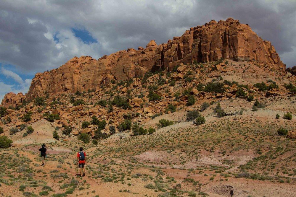 Escalante Hiking
