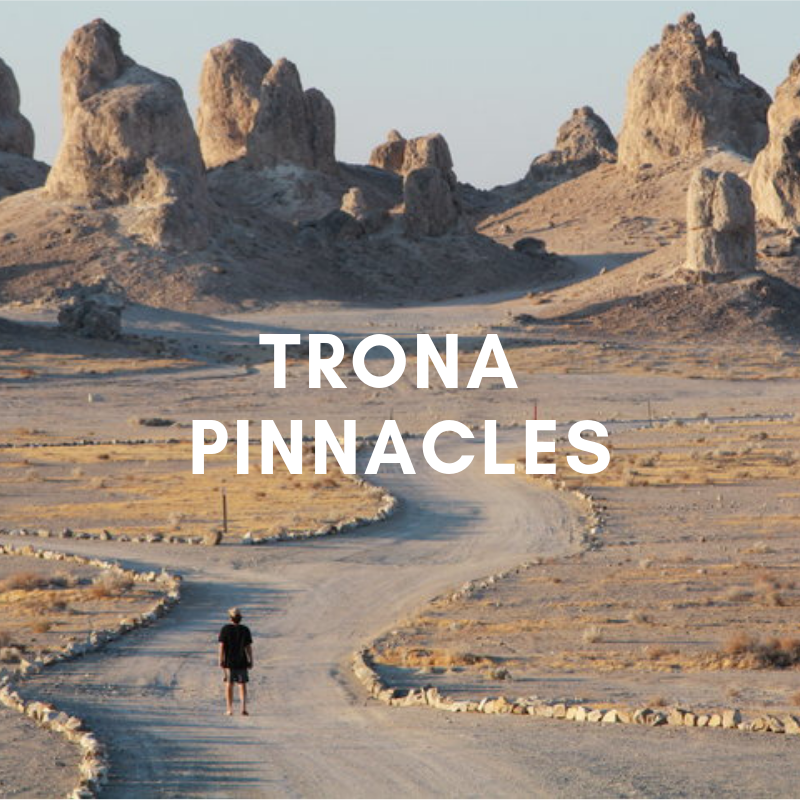 Free Camping in Trona Pinnacles - Trona Pinnacles is some of the most bizarre random in the middle of nowhere landscapes we experienced. This place was all ours for the stop over.
