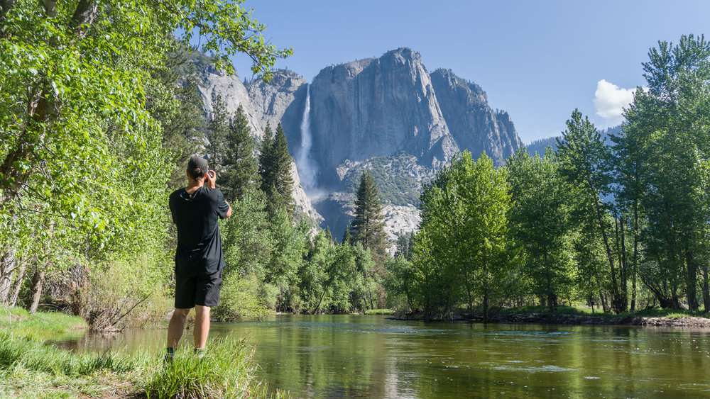 Images along the merced river Yosemite national park