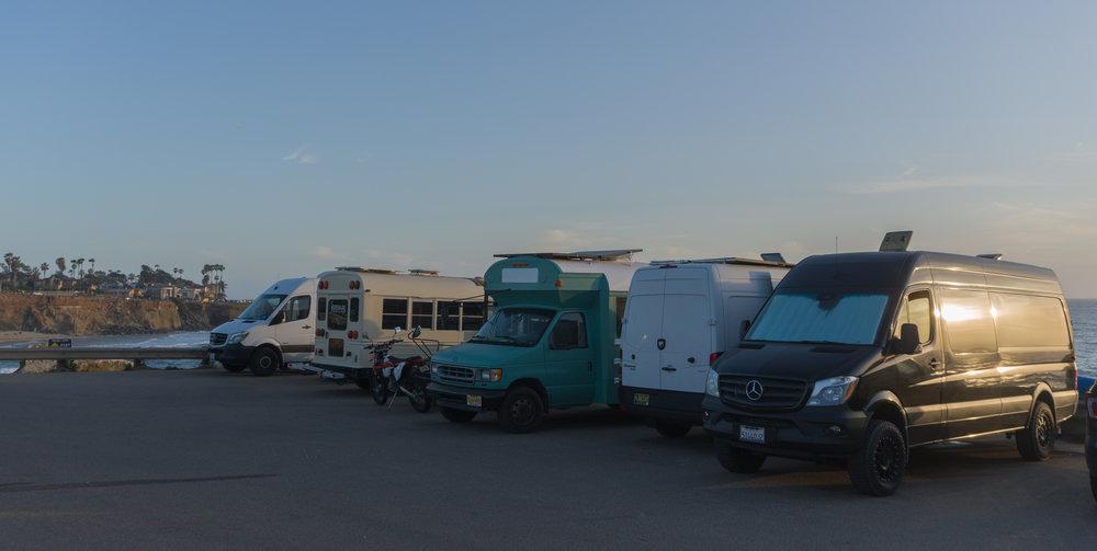 San Diego Van Life Parking Spots