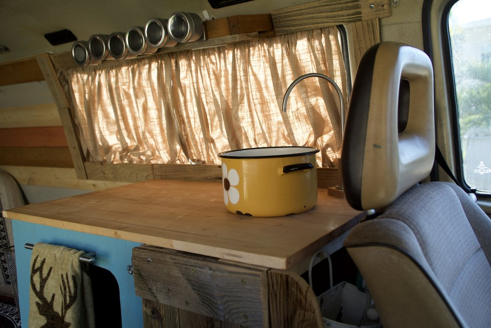 Sink - DIY 70s pot from passenger seat.jpg