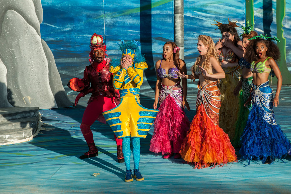 """Andrina in """"The Little Mermaid"""""""