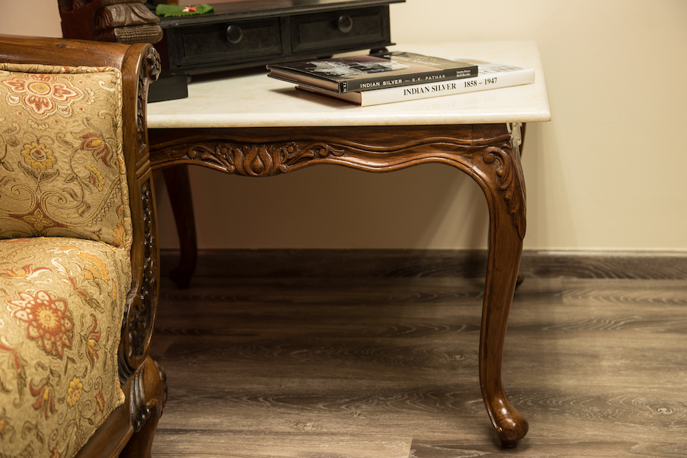 Georgian Marble Coffee Table.JPG