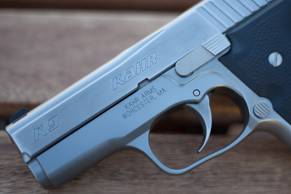 "In my opinion, the Kahr K9 is still the best looking ""baby nine"" there is."