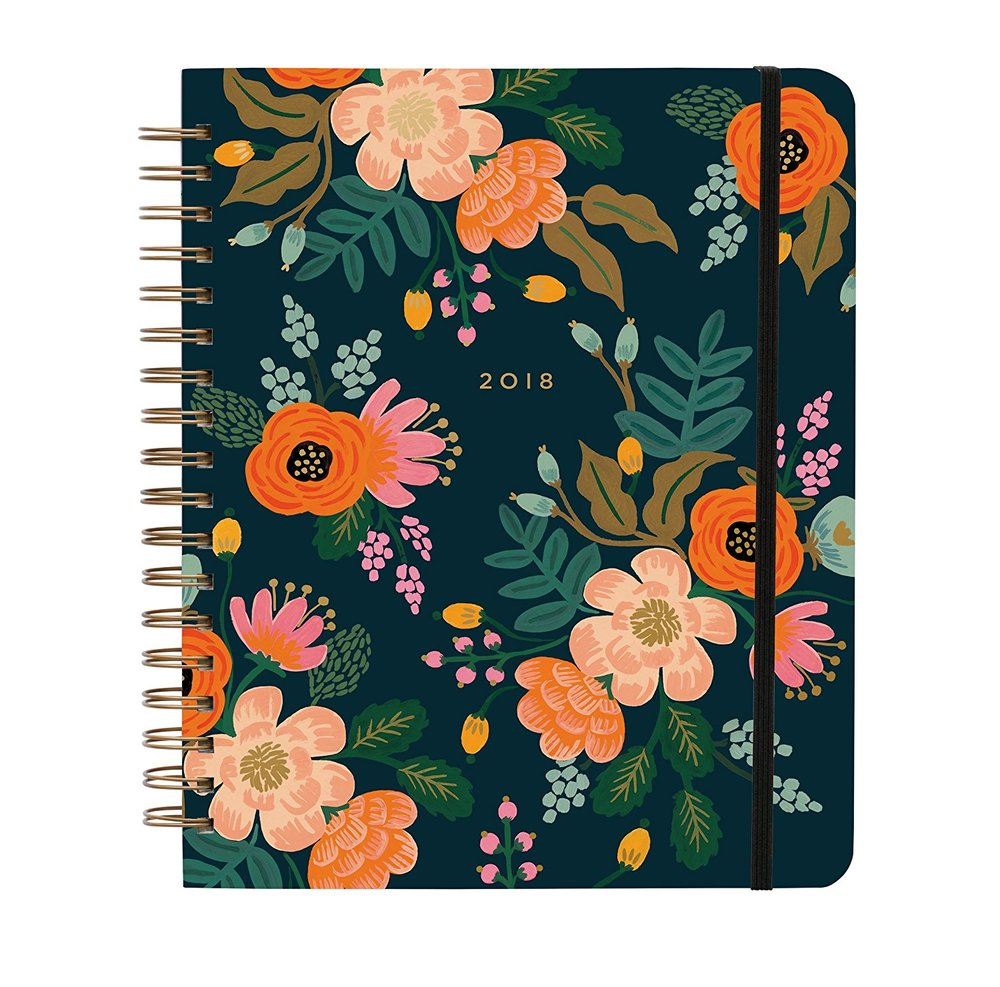 Rifle Paper Co Black Planner.jpg