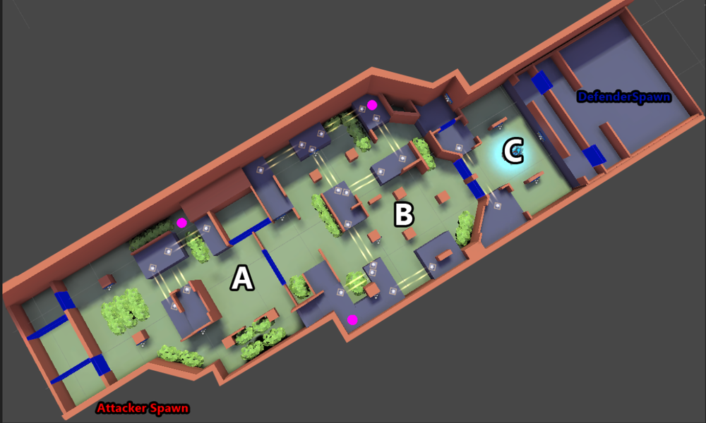 "The second map we're working with for the game mode we call ""Assault""."
