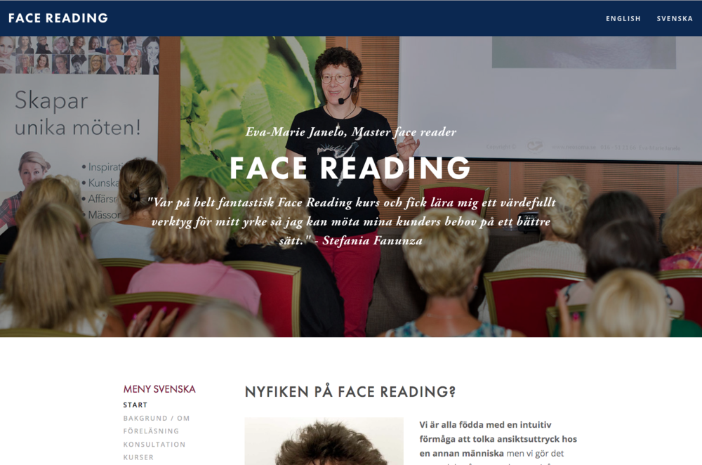 Facereading Eva-Marie Janelo