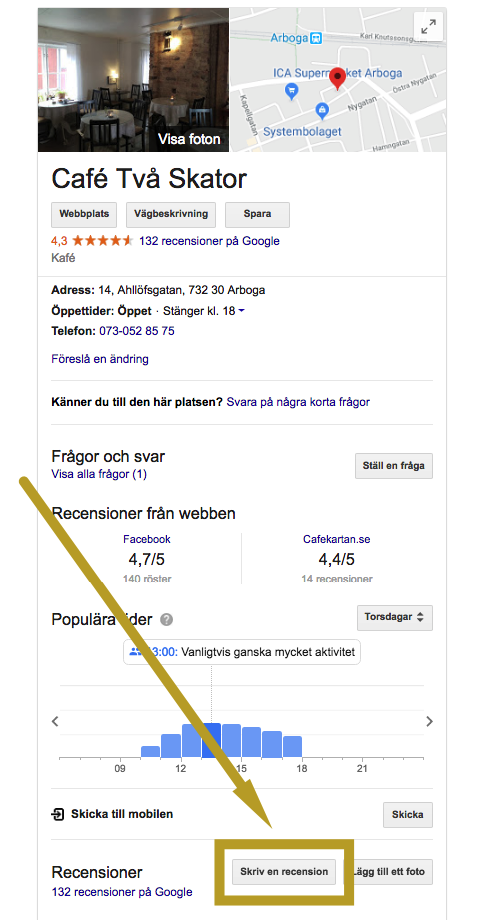 Recension Google