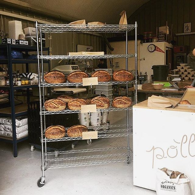 A photo of one of our suppliers @pollenbakery taken by our friends @love.labour who are popping up at ours tonight 7:30pm with natural wine, cheese, bread, charcuterie. Come by ✌🏼️