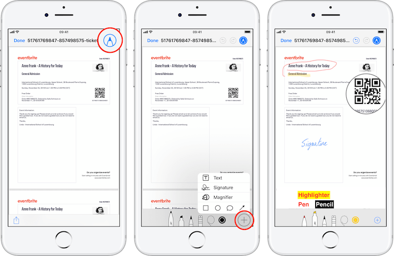 How to annotate and sign PDF in Mail on iPhone - Latest version of iOS.png