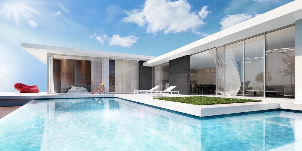 Villa Khoury Architectural