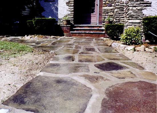 Stone Sidewalk 2