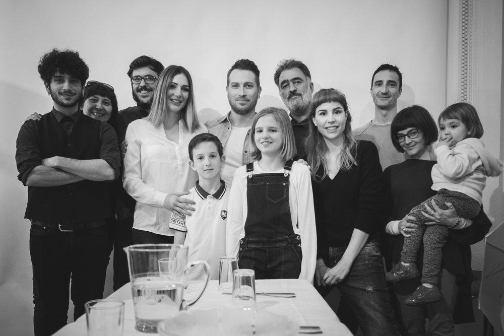 La parola segreta di ieri sera è stata 'collaborazione', e insieme agli altri abbiamo fatto la nostra parte. Parte di una parte di un nuovo progetto. Grazie a tutti!