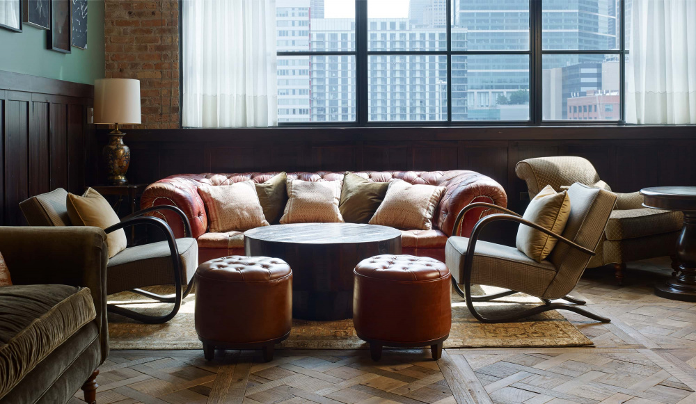 Inspirational Design: Made to Order Footstools and Ottomans available from SOHO HOME