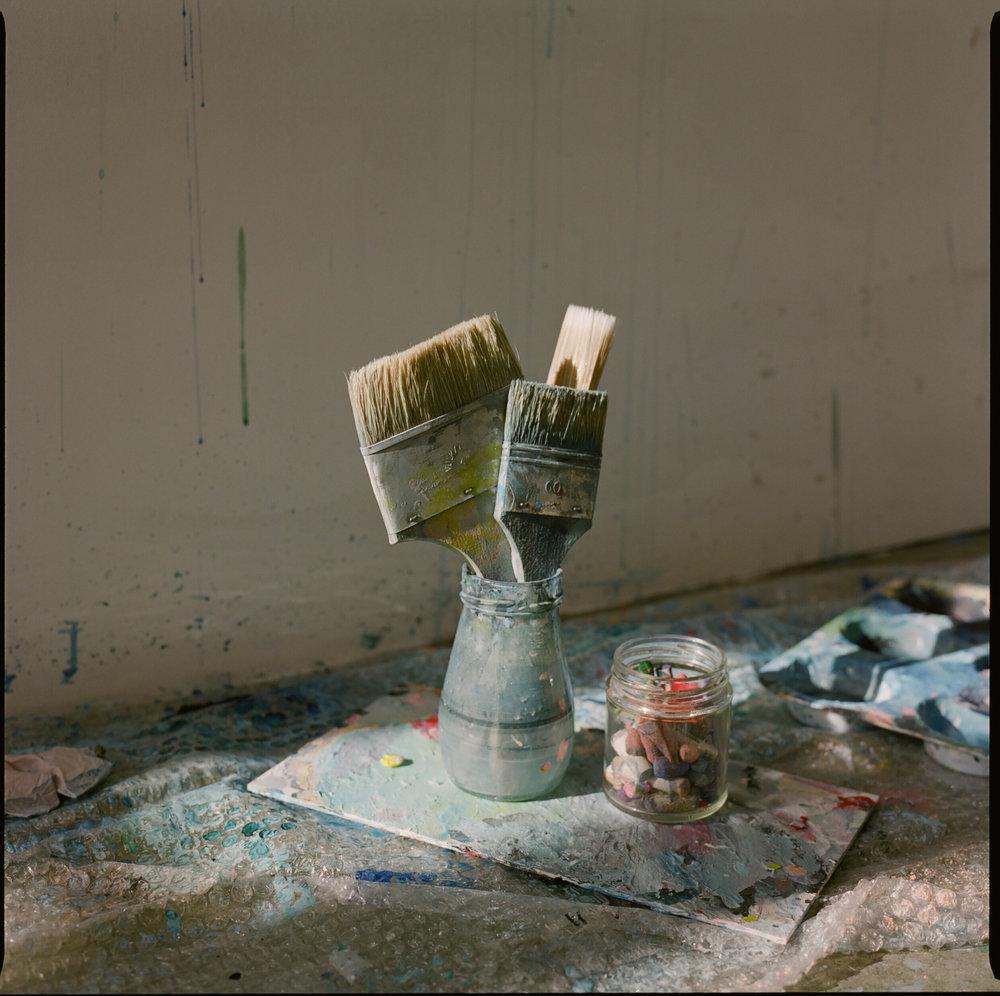 Laura Gee's Studio