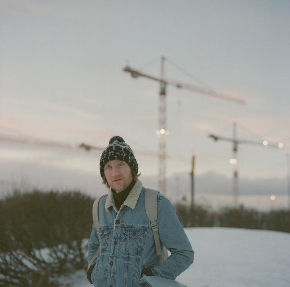 Craig in Reykjavik