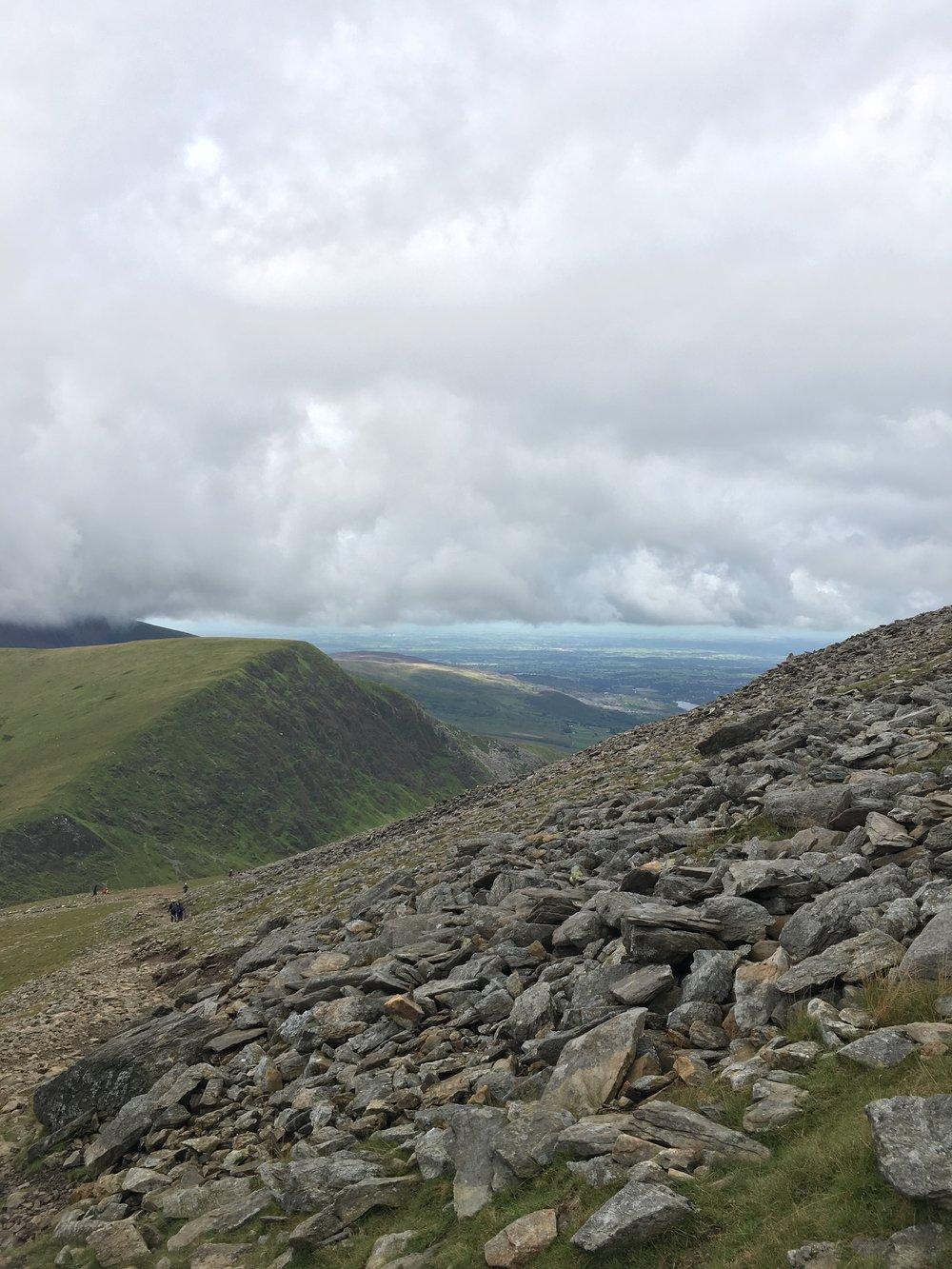 Climbing the Ranger Path