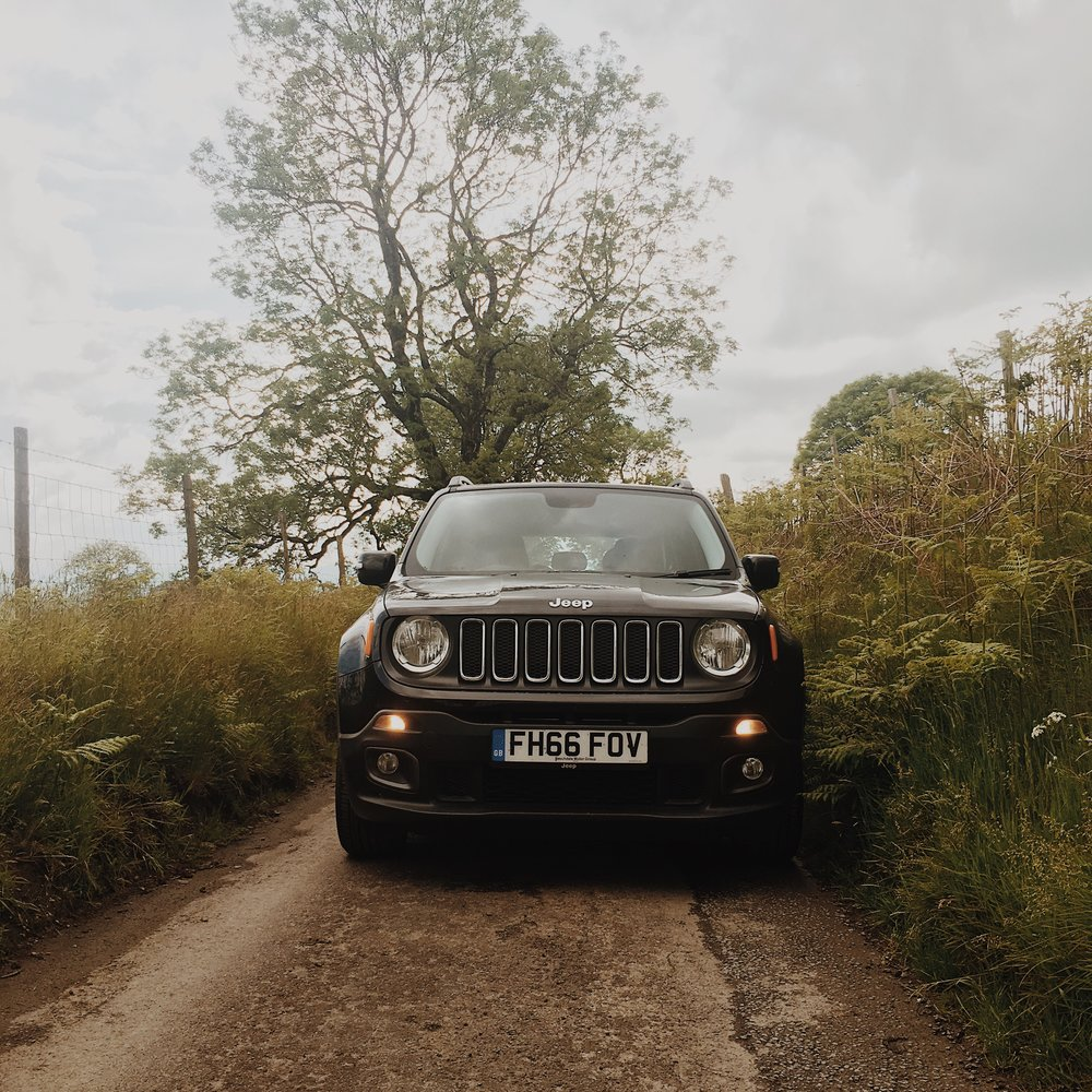 Our Jeep Renegade was the perfect tool for navigating the narrow Welsh roads.