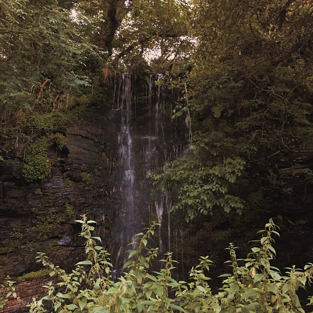The beautiful on site waterfall. How many places can boast that?