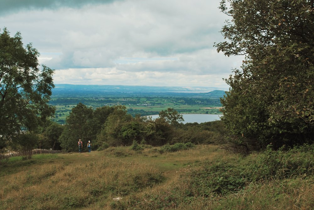 The Cheddar Reservoir sits west of the town and is visible when on the cliffs