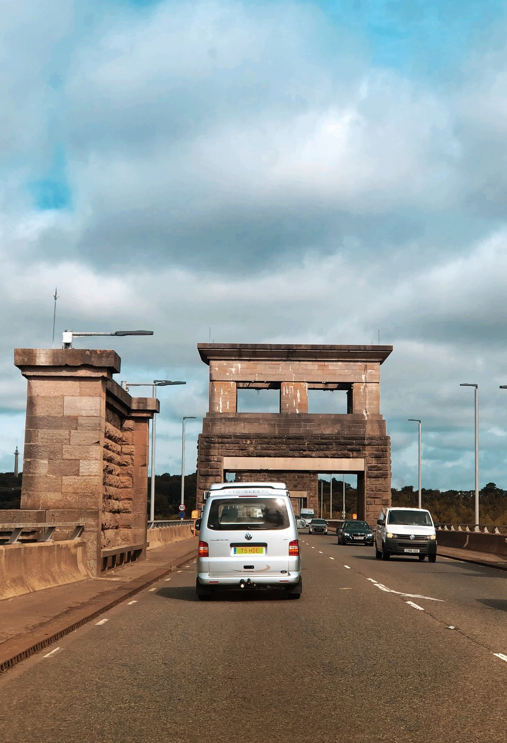 Crossing the Britannia Bridge