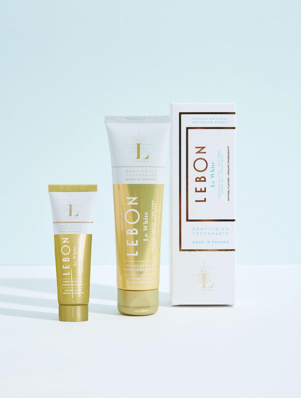 Lebon organic toothpaste - le White