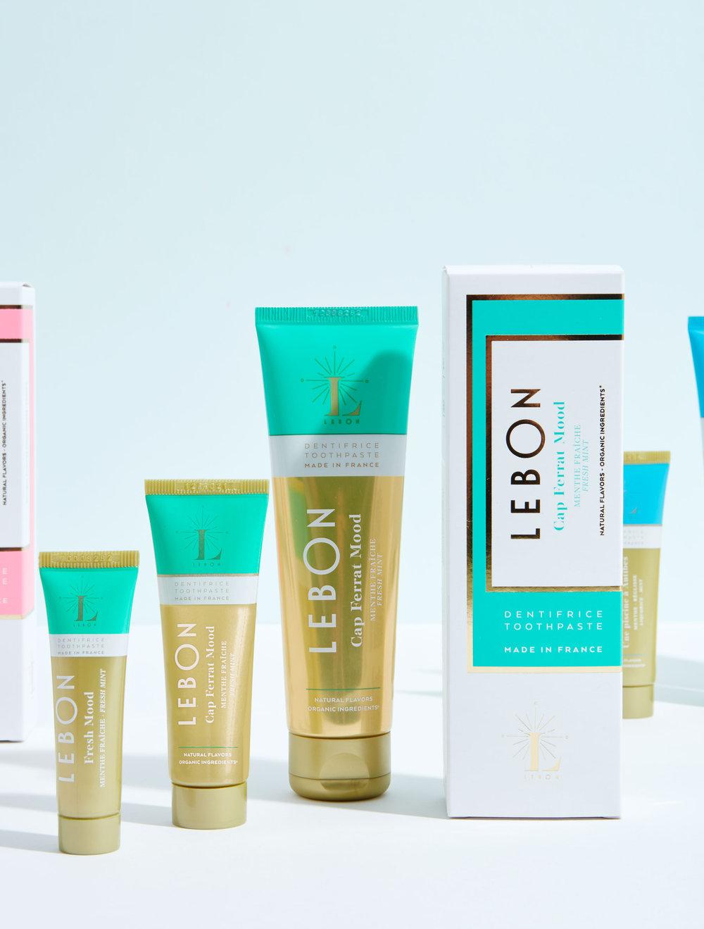 Lebon organic toothpaste - Cap Ferrat Mood