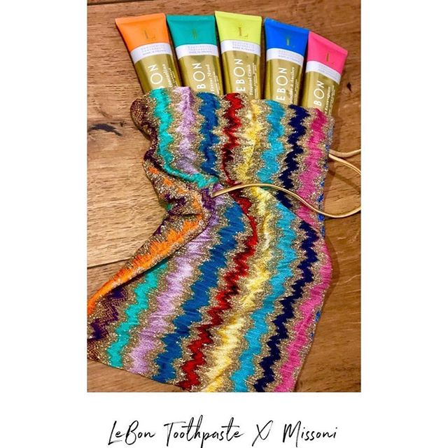 LEBON ➕ MISSONI ~ Pic by @maud_fr 🧡 #fashion #fashionweek #upgradeyourbeautyroutine #paris
