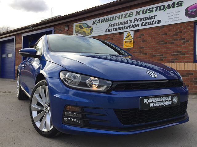 Lisa had her Scirocco in again today for a Spring detail and to have a couple areas on the paint work corrected 👍 The shine achieved was amazing and again AM details products used throughout for an amazing result. Another very happy customer and I am sure we will be seeing her again in the near future for some maintenance work to keep her car looking it's best for the sunny times ahead 😉👌 #karbonizekustoms#vw#averydennison#lovecars#springprotectiondetail#carsofinstagram #cargasm #cars #vinylwrapping #paintptotectionfilm #ppf #detailing #machinepolish #maintenancevalet #paintisdead #waxisdead #amdetailing#scotland #authoriseddetailer