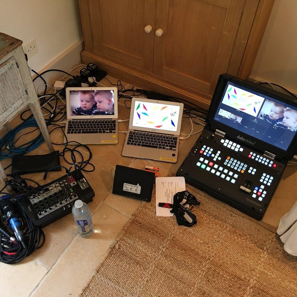 audio visual equipment hire newbury