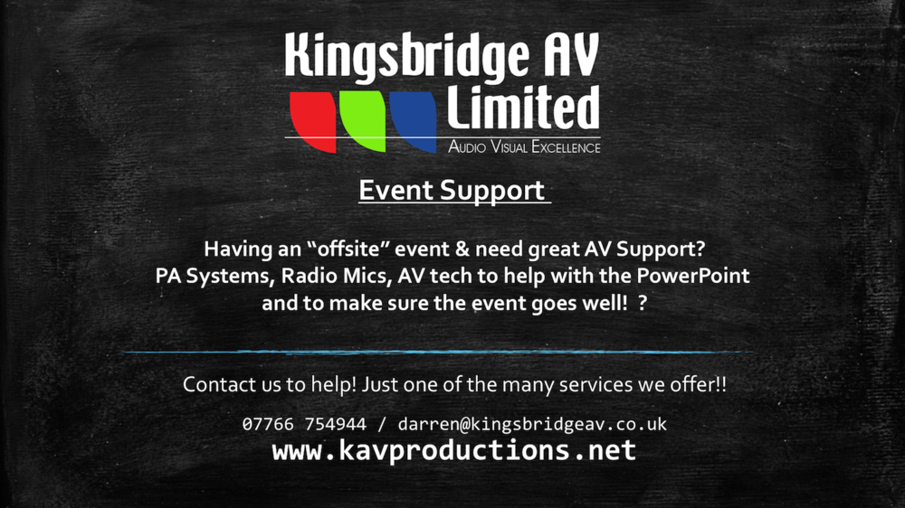 Copy of Copy of Copy of event support newbury