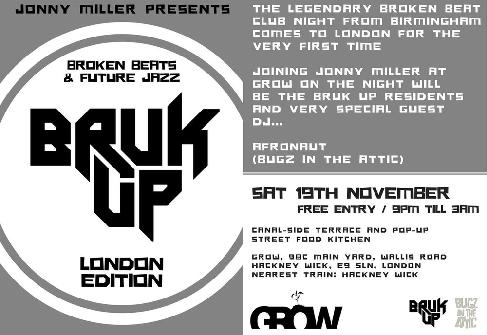bruk up london