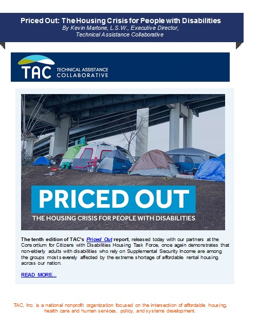 TAC Underscores The Housing Crisis for People with