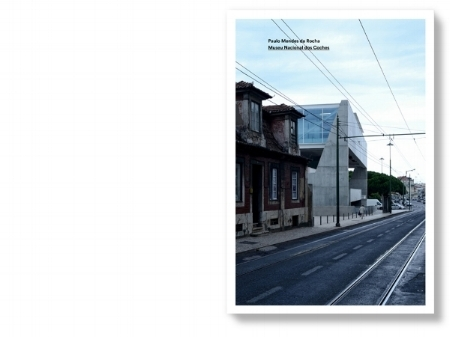 m1.1 ....cover..capa.... Paulo Mendes da Rocha, Museu dos Coches, Lisboa 2015 © João Carmo Simões.