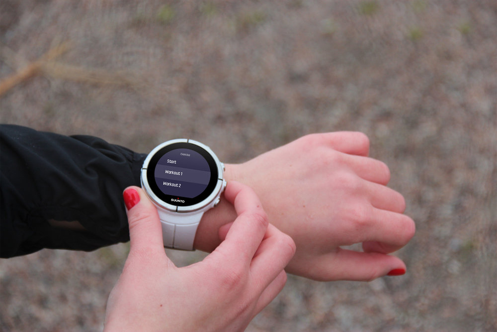 Suunto - interaction design