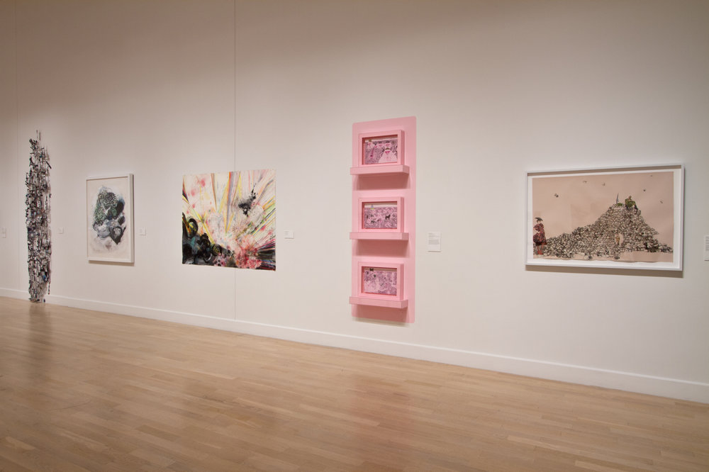 Work on Paper, group exhibition, Mint Museum, Charlotte, North Carolina, 2013