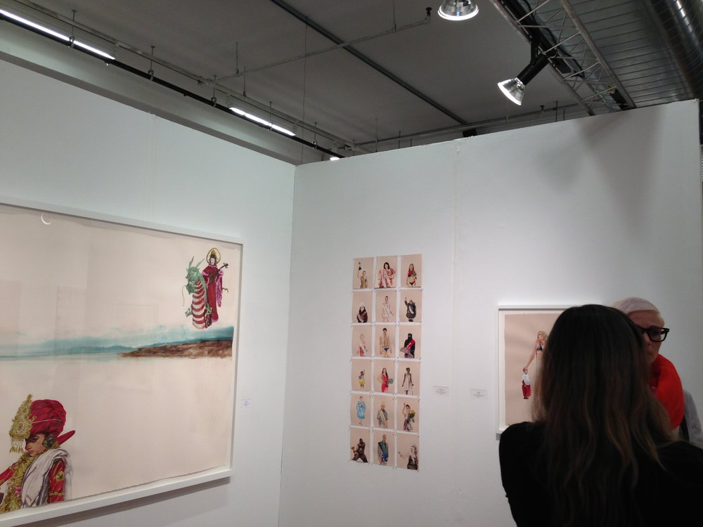 Volta Art Fair, Cynthia Reeves Gallery booth, New York, NY, 2014