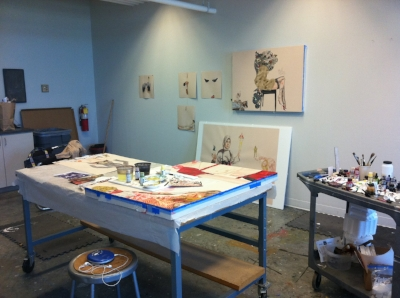 Studio, McColl Center for the Arts, 2011