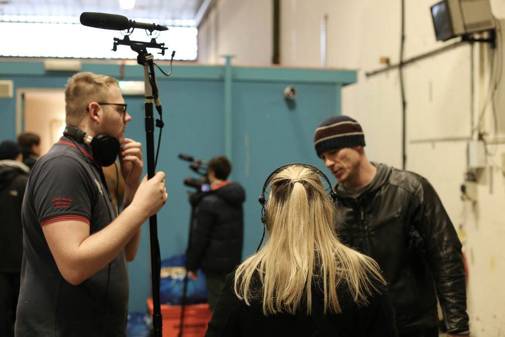 Sound Team: Sam Healey, Charlotte Whitham, Ben Harvey