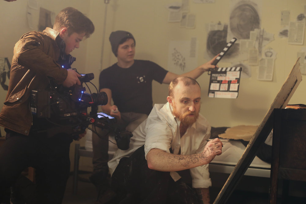Cinematographer: Oliver Hutchings-Smith; Camera assistant: Hayden Brown; Malcolm: Max Attaway