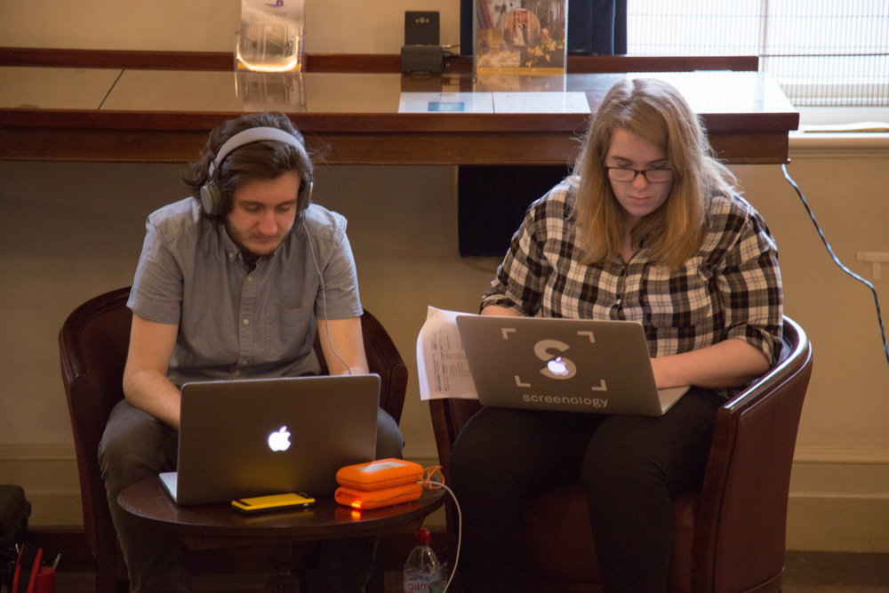 Tech Team: Spencer Ellis and Izzy Larche