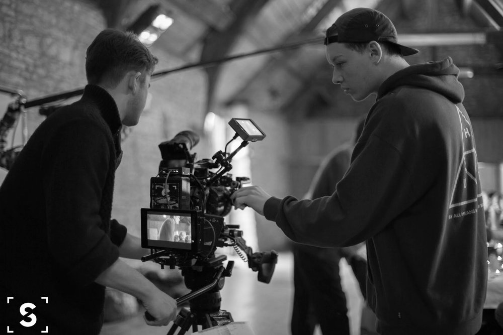 Camera Operator: Ollie H-Smith  1st AC: Joss Gibbs
